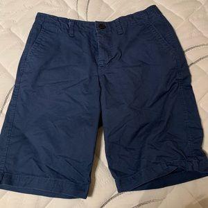 Flat Front chino shorts